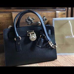 $298 Michael Kors Hamilton Handbag Purse